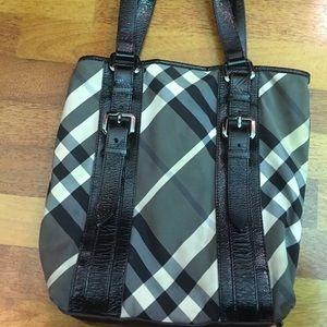 Burberry shoulder hand bag
